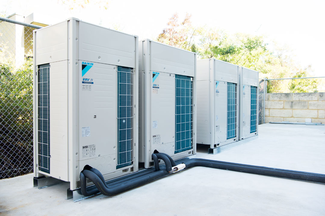Daikin external air conditioning units